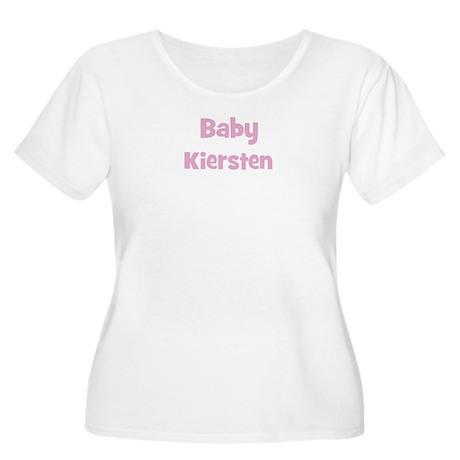 Baby Kiersten (pink) Women's Plus Size Scoop Neck