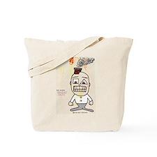 Cute Paper boy Tote Bag