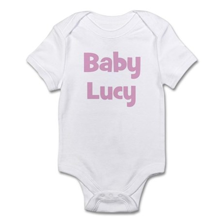 Baby Lucy (pink) Infant Bodysuit