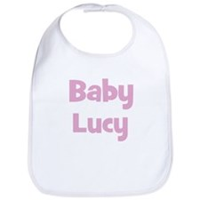 Baby Lucy (pink) Bib