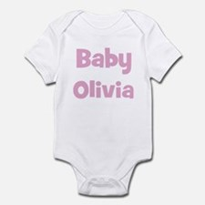 Baby Olivia (pink) Infant Bodysuit