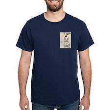 Dark Shirt - Image on Pocket