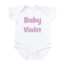 Baby Violet (pink) Infant Bodysuit