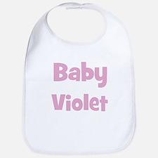 Baby Violet (pink) Bib