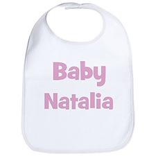 Baby Natalia (pink) Bib