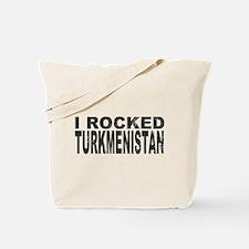 I Rocked Turkmenistan Tote Bag
