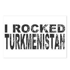 I Rocked Turkmenistan Postcards (Package of 8)