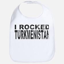 I Rocked Turkmenistan Bib