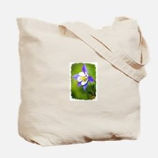 PINK FLOWER/ BACK SIDE- COLUMBINE FLOWER Tote Bag