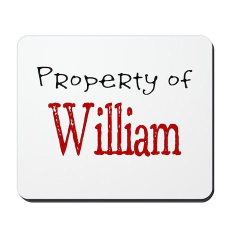 William Mousepad