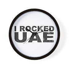 I Rocked UAE Wall Clock
