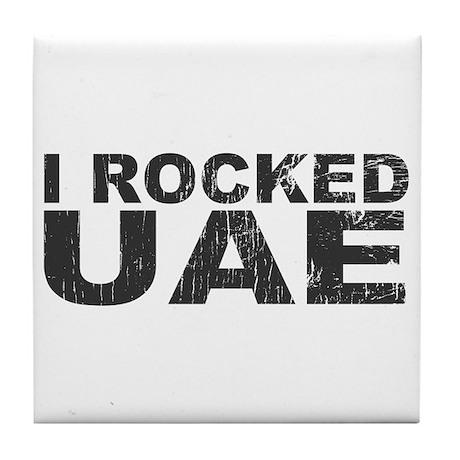 I Rocked UAE Tile Coaster