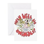 PARTY WITH THE ANIMALS Greeting Cards (Pk of 10)