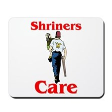 """Shriners Care"" Mousepad"