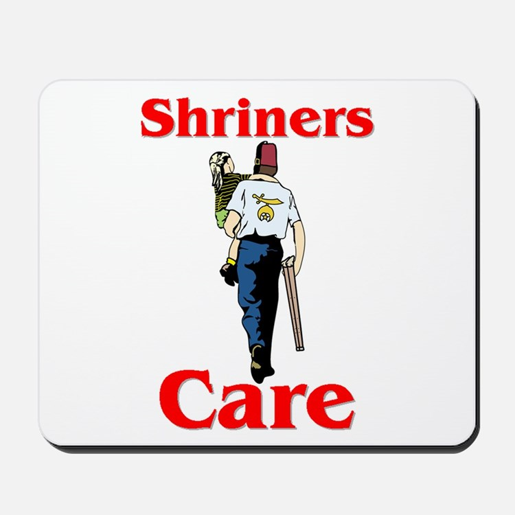 """Shriners Care"" Mousepad"