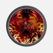 Worship the Serpent Wall Clock