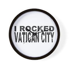 I Rocked Vatican City Wall Clock