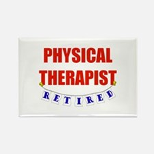 Retired Physical Therapist Rectangle Magnet (100 p