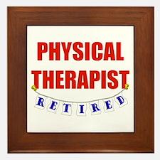 Retired Physical Therapist Framed Tile