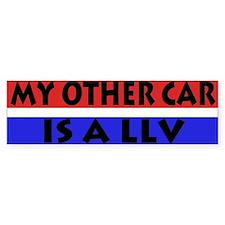 LLV Bumper Car Sticker
