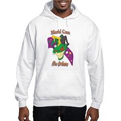 Mardi Gras Skull Hoodie