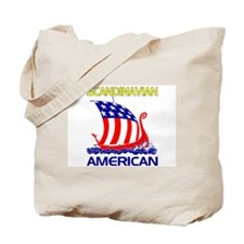 Scandinavian American Ship Tote Bag