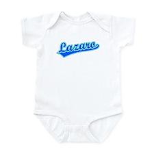 Retro Lazaro (Blue) Infant Bodysuit