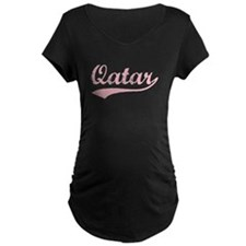 Vintage Qatar (Pink) T-Shirt