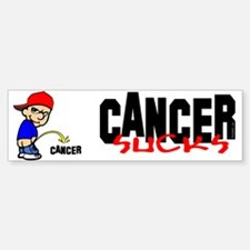 Cancer Sucks -- Sticker Bumper Sticker (50 pk)