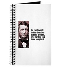 "Thoreau ""Go Confidently"" Journal"