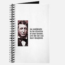 "Thoreau ""Go Confidently"" Journal"