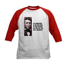 "Thoreau ""Go Confidently"" Tee"