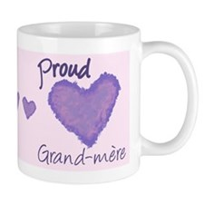 Proud Grand-mere Small Mugs