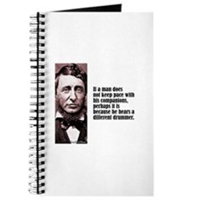 "Thoreau ""Different Drummer"" Journal"