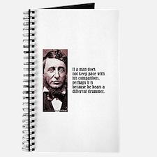 """Thoreau """"Different Drummer"""" Journal"""