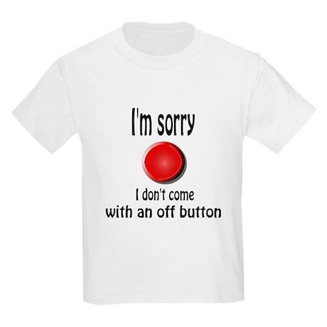 Off Button Kids Light T-Shirt