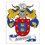 Navarro Family Crest Small Poster