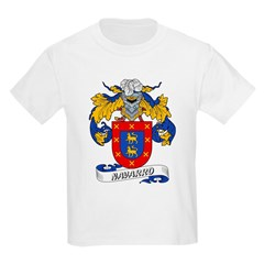 Navarro Family Crest Kids T-Shirt