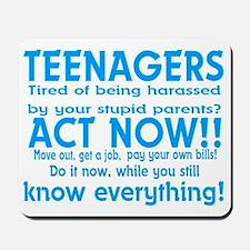 Teenagers Mousepad