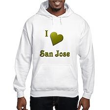 I Love San Jose #16 Hoodie