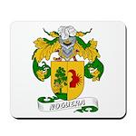 Noguera Family Crest Mousepad