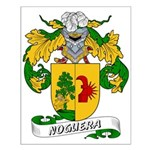 Noguera Family Crest Small Poster