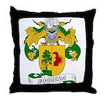 Noguera Family Crest Throw Pillow