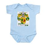 Noguera Family Crest Infant Creeper