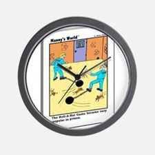 ROLL A RAT GAME POPULAR IN PR Wall Clock