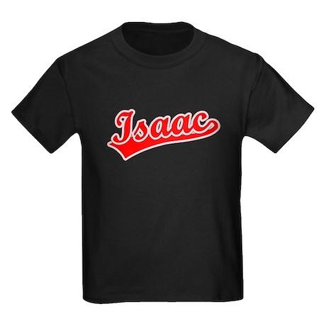 Retro Isaac (Red) Kids Dark T-Shirt