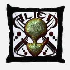 Alienwear Vector Design 1 Throw Pillow