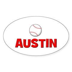 Baseball - Austin Oval Sticker
