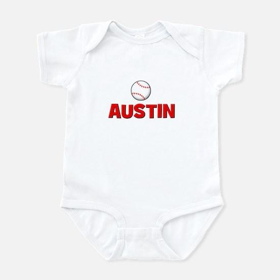 Baseball - Austin Infant Bodysuit