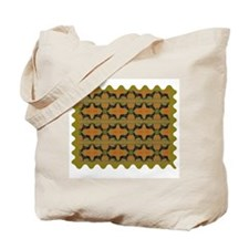 Face-Off Tote Bag